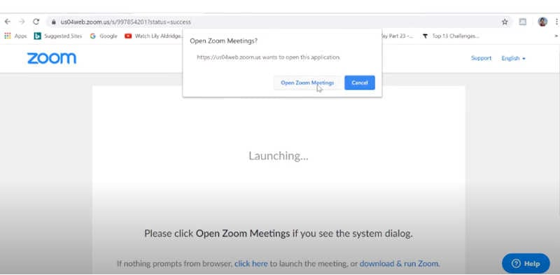 open a zoom meeting, start with zoom, join zoom, zoom meeting